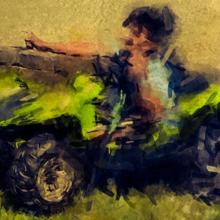 Atv all terrain vehicle photography digital art